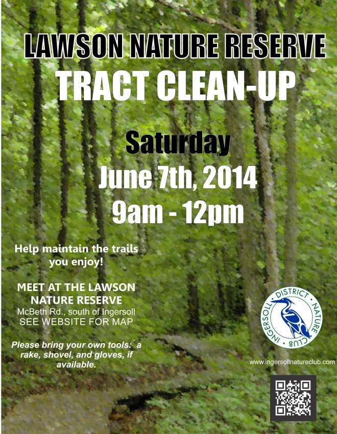 Tract Clean Up Poster