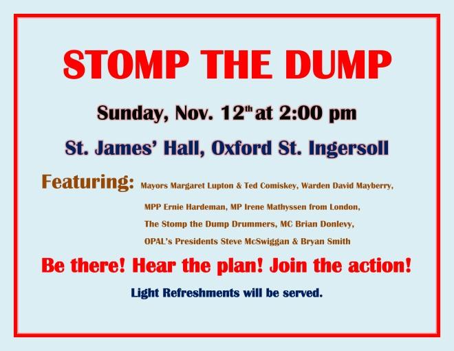 STOP THE DUMP