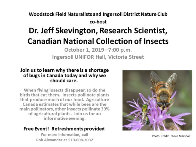 Woodstock Field Naturalists and Ingersoll District Nature Club REVISED